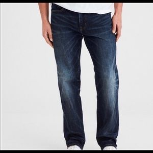 American Eagle Mens Relaxed Straight Jeans 28 x 32
